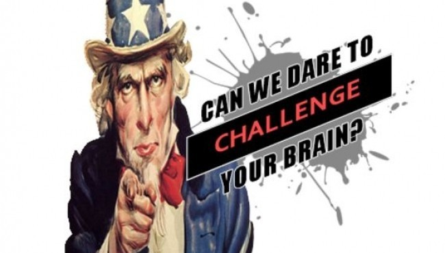 Can We Dare To Challenge Your Brain?