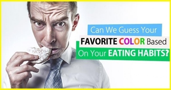 Can We Guess Your FAVORITE COLOR Based On Your EATING HABITS ?